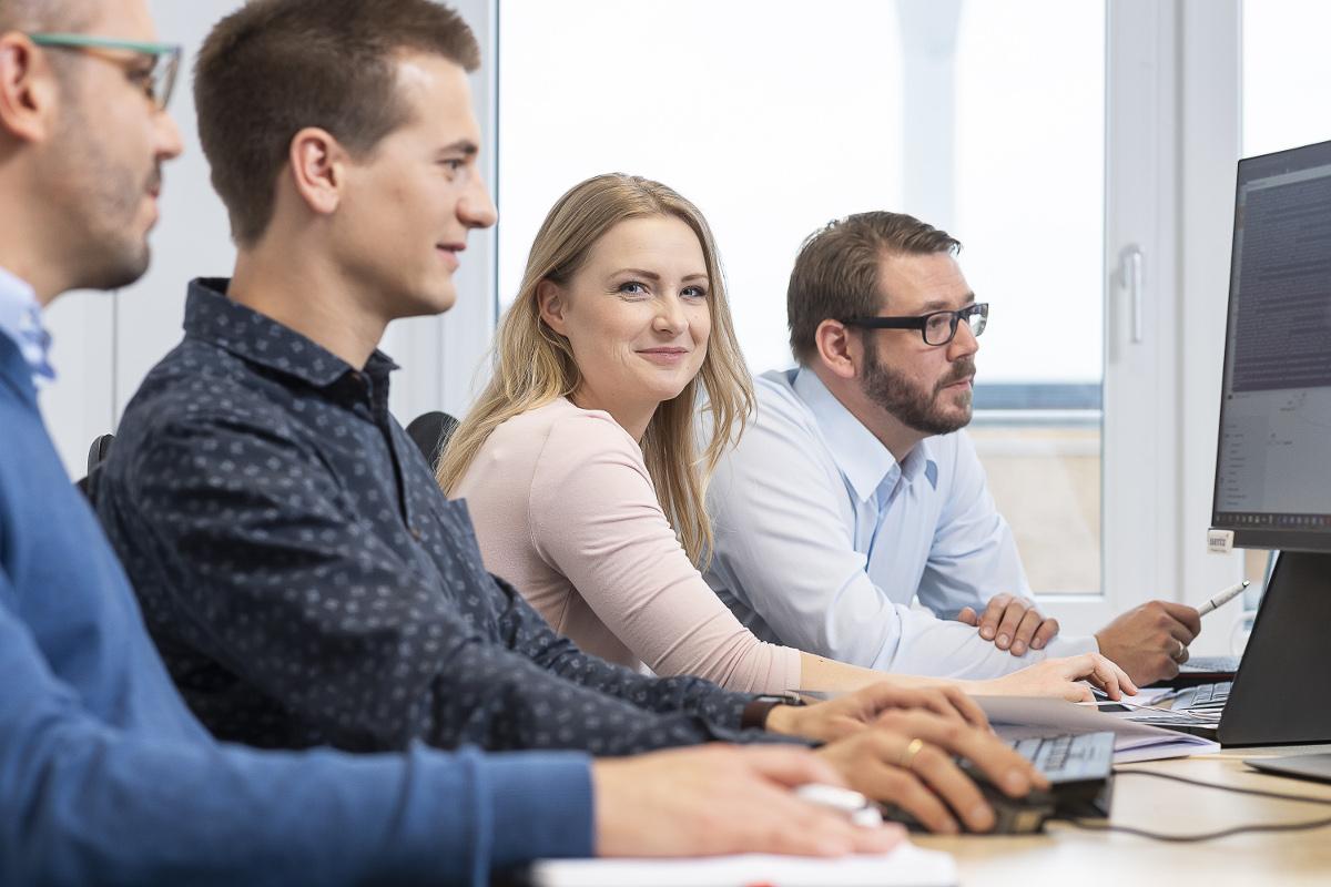 Agile Softwareentwicklung - Unser Team